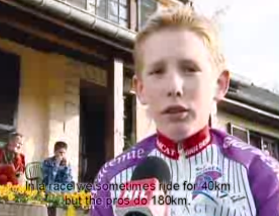 Andy Schleck at 13
