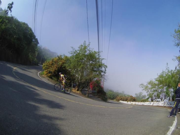 pretty steep here