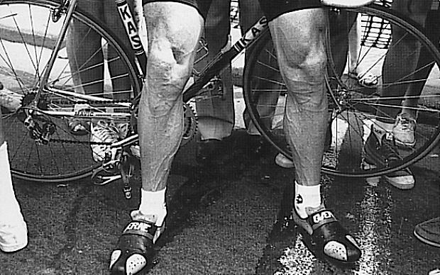 Sean Kelly's Legs, a pair of legends in socks