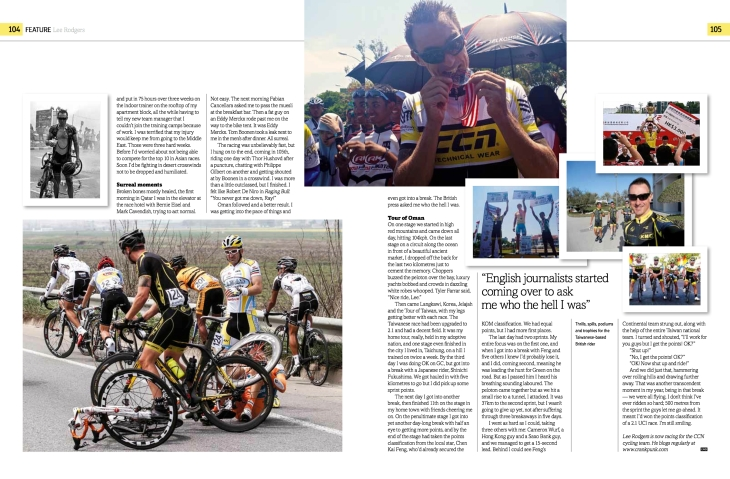 Lee Rodgers Cycle Sport pg 4
