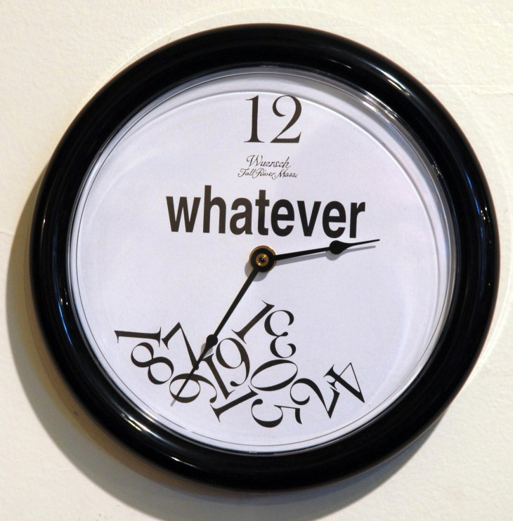 Whaterver Clock