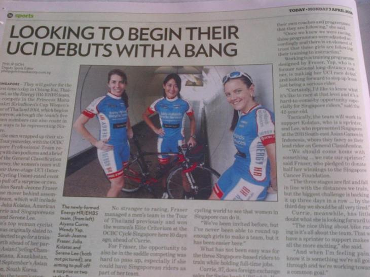 Aiyana, left, from weekend warrior to UCI stage race debutant in five months