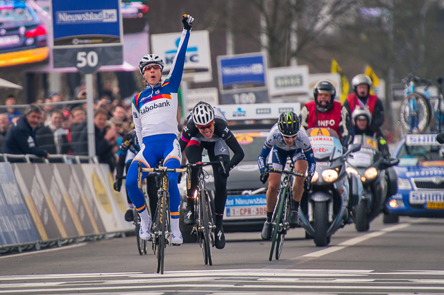 the scintillating Marianne Vos