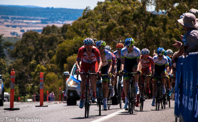 Orica-GreenEdge and Drapac bossing the race