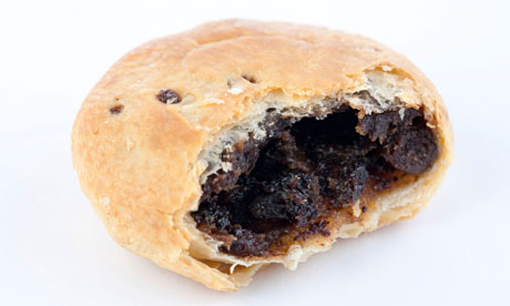 an Eccles cake. from Eccles, i suspect.