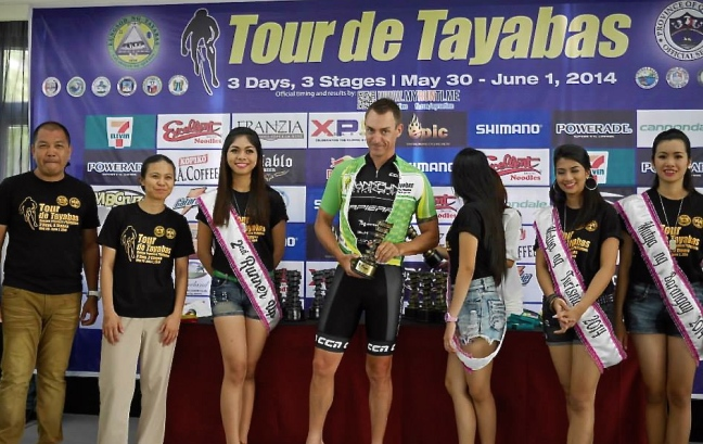 Winning the GC and the Points Classification at Tayabas