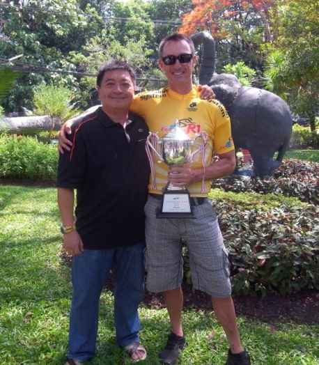 with a very happy team manager, Brandon Teo, back in 2013