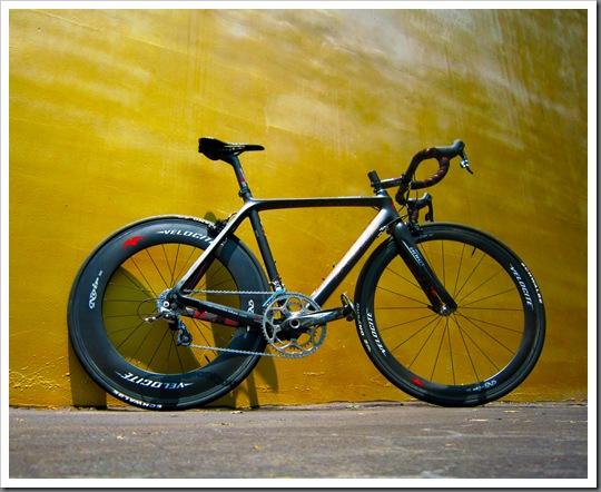 The Magnus, stiffest bike I've ridden to date
