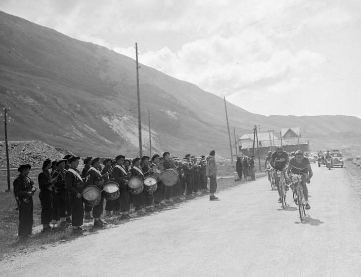 Band at 1949 Tour de France